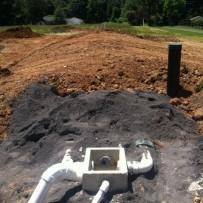 Presby Environmental Alternative Septic System Mound