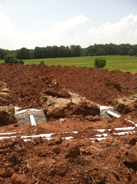 Conventional Trench Drain Field