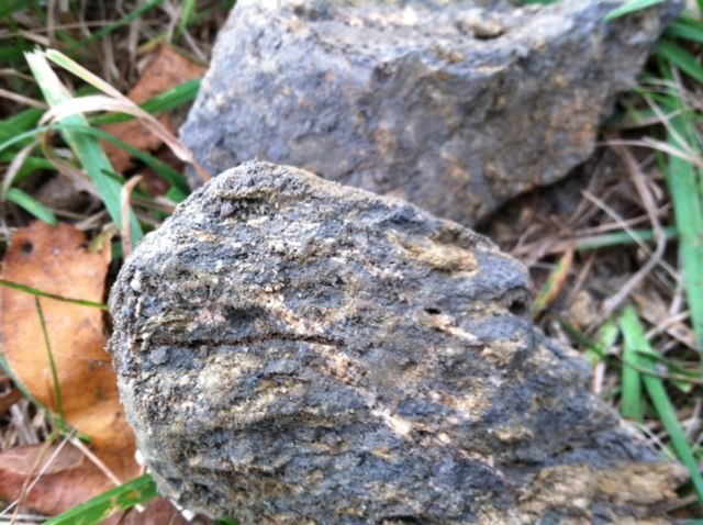 Highly Weathered, Very Friable Schist