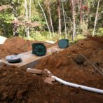 New Septic Tank Installation